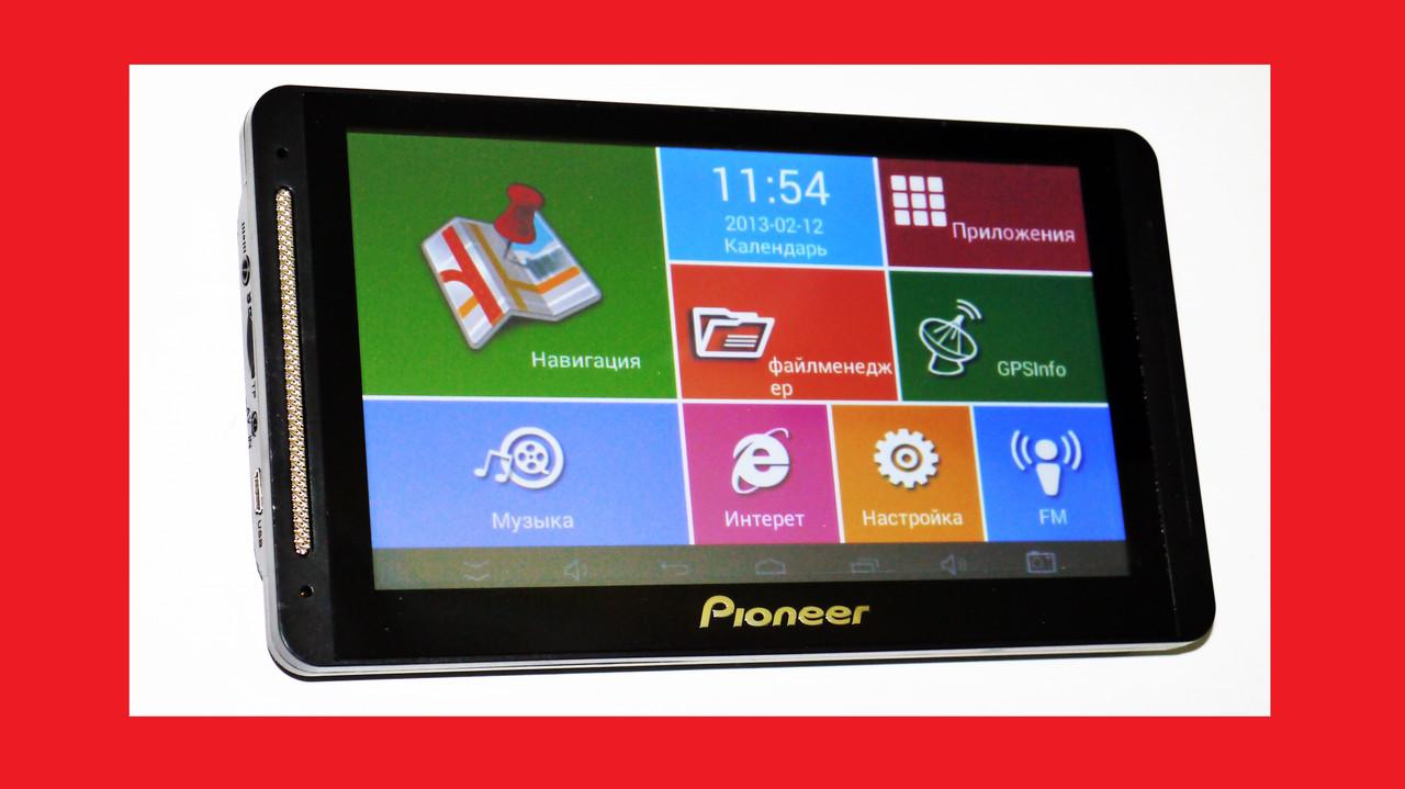 "7"" Pioneer 708 - 4дра+1Gb RAM+16Gb ROM+Bluetooth+GPS+Android"