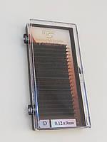 Ресницы I-Beauty на ленте , 9мм, изгиб D 0,12 Mink Eyelashes (20 линий)