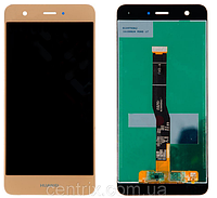 Дисплей (экран) для Huawei Nova без микросхемы, (тип 1), CAN-L11/CAN-L01,#1540337191 + тачскрин, цвет золотой