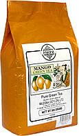 Зелений чай Манго, MANGO GREEN TEA, Млесна (Mlesna) 500г., фото 1