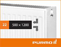 Сталевий панельний радіатор PURMO Compact 22 500x 1200