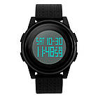 • Оригинал ! Спортивные часы Skmei Black-White1206  Ultra New, фото 2