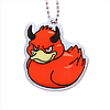 Official Deadly Duck Trackable Tag- Wrath