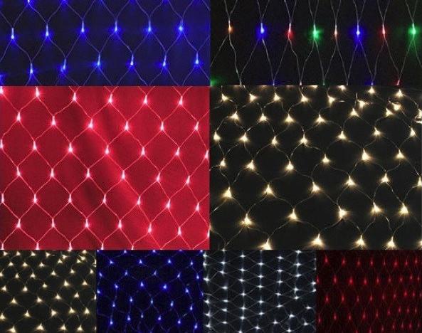 Гирлянда LED сетка 480 лампочек