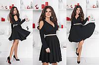 Платье женское костюмка Армани в расцветках 27712, фото 1