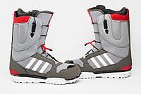 Боти для сноуборду Adidas Grey-red АКЦІЯ -20%