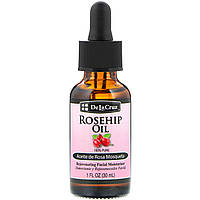De La Cruz, Rosehip Oil, 100% Pure, Rejuvenating Facial Moisturizer, 1 fl oz (30 ml)
