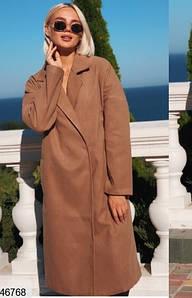 Женское кашемировое пальто 46768 КТ-3536