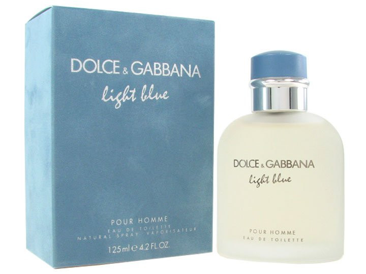 Мужские духи в стиле D&G Light Blue Pour Homme (edt 125ml)