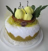 "Полотенце-тортик ""Торт с грушей"", фото 2"