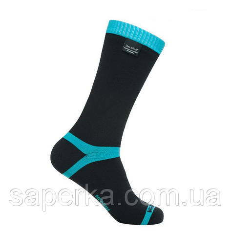 Водонепроникні шкарпетки Dexshell Coolvent Ague Blue, фото 2