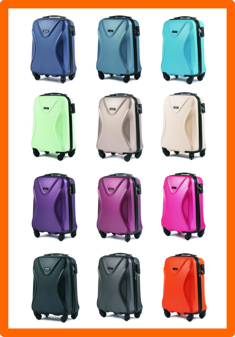 Ультралегкий чемодан WINGS 518 (ручная кладь) S