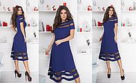 Платье женское с сеточкой в расцветках 27716, фото 1