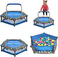 Игровой центр-батут Smart Trike 3 в 1 с мячиками