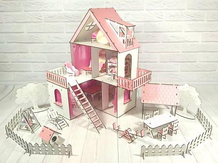 Домик Солнечная дача+обои+мебель+текстиль+шторы+дворик, фото 2