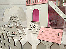 Домик Солнечная дача+обои+мебель+текстиль+шторы+дворик, фото 3