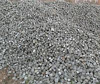 Колотая тротуарная плитка брусчатка из гранита