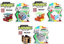 Кубик Рубика с таймером, 3 вида, на блистере /120-2/