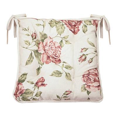 Подушка на стул Large Pink Rose