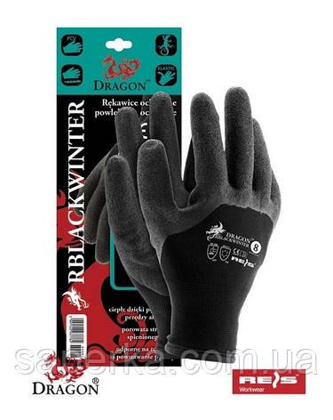 Защитные утепленные проклеенные перчатки, фото 2