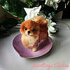 Собачка Шпиц, сухое валяние - лучший подарок.