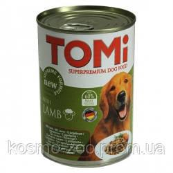 TOMi lamb ТОМИ ЯГНЕНОК супер премиум корм, консервы для собак 1.2 кг