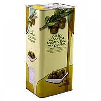 Лучшее итальянское оливковое масло первого отжима Olio Extra Vergine di Oliva ж/б 5 л.