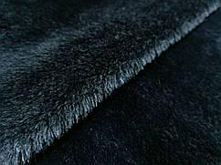 Мех однотонный, черный
