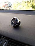 Годинник в автомобіль Vehicle clock Chevrolet, хром/круглі автомобільні годинники з маркою авто Шевроле, фото 4