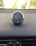 Годинник в автомобіль Vehicle clock Chevrolet, хром/круглі автомобільні годинники з маркою авто Шевроле, фото 5