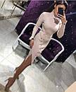 Платье в рубчик с двойным горлом, фото 9