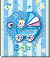 Фотоальбом для детей EVG 10X15X200 BKM46200 BABY CAR BLUE, 6368588