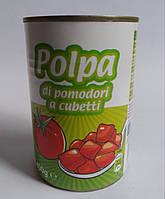 Polpa Di Pomodoro резаные консервированные помидоры Италия