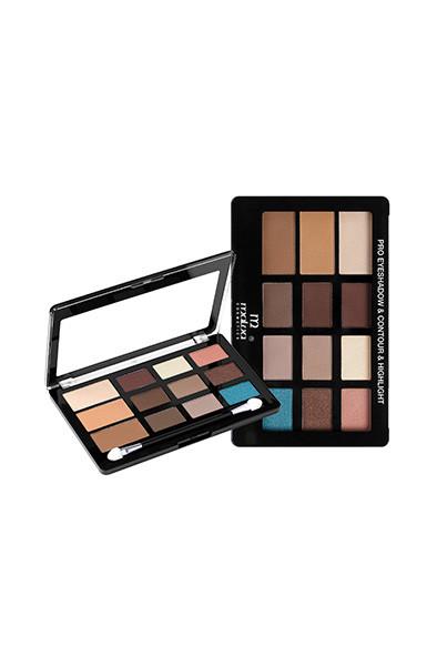 Палитра для макияжа Malva Cosmetics Pro Eyeshadow & Countour & Highlight