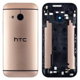 Задня кришка для смартфону HTC One M8, золотиста