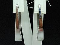 Серебряные серьги. Артикул 2011р, фото 1
