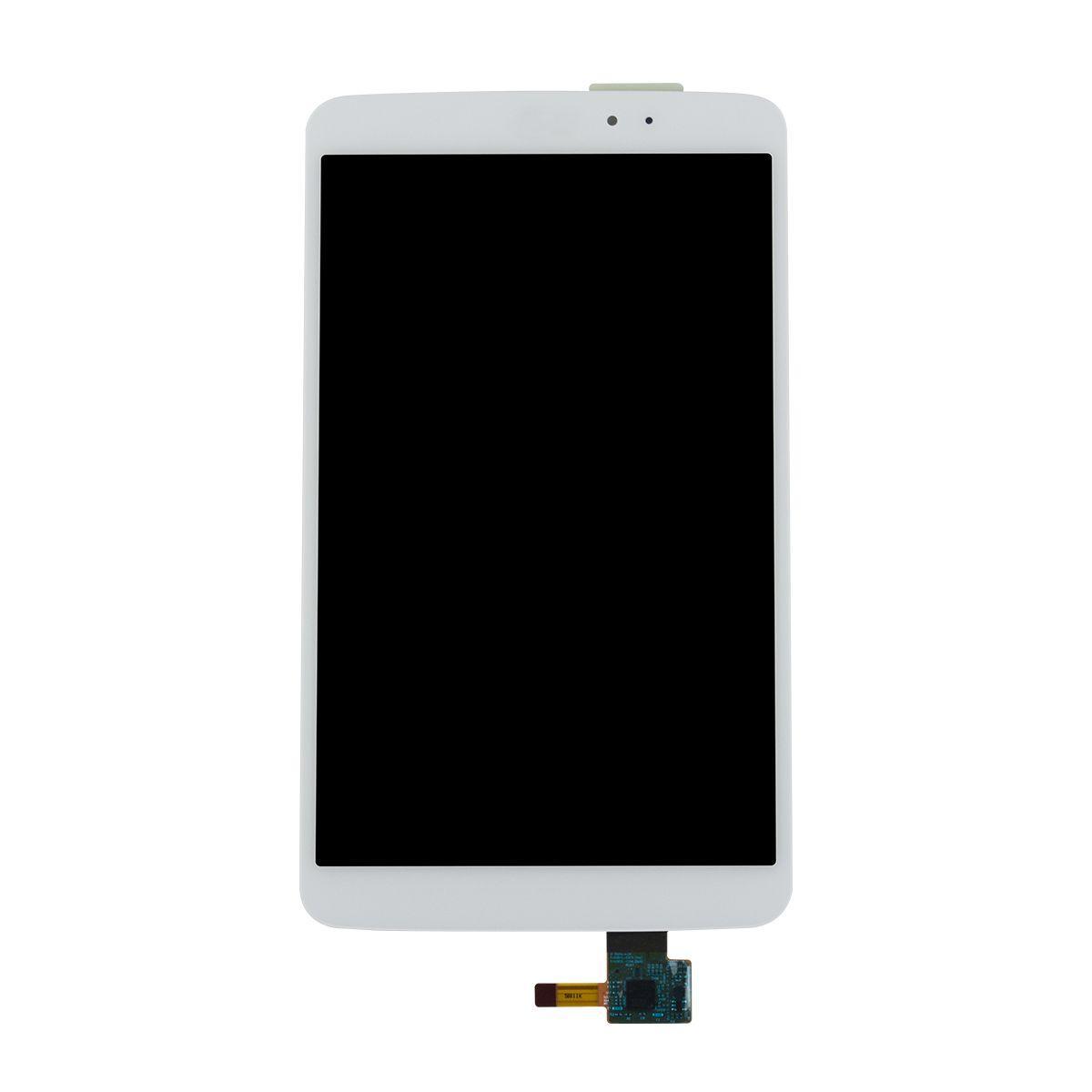 Дисплейный модуль для планшета LG G Pad 8.3 V500 в сборе с тачскрином белый