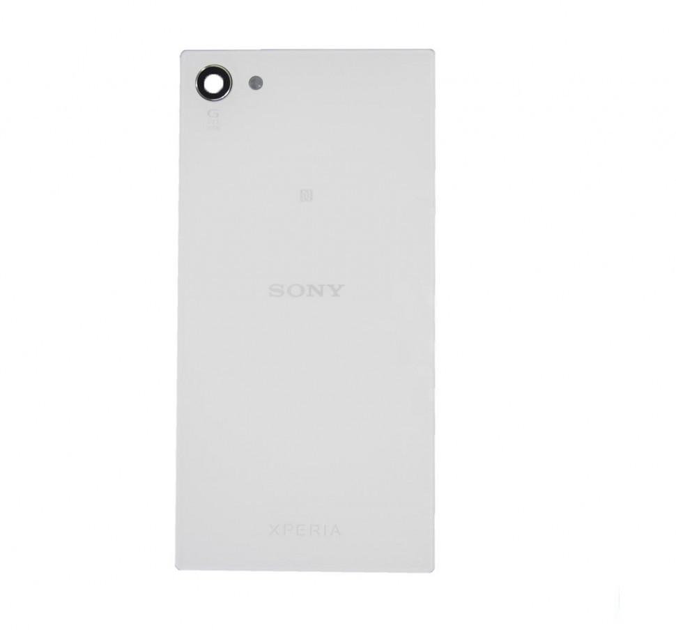 Задня кришка для смартфону Sony Xperia Z5 E5803 Compact Mini, E5823 Compact, біла