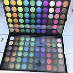 Профессиональная палитра теней МАС 120 цветов №2 , фото 4