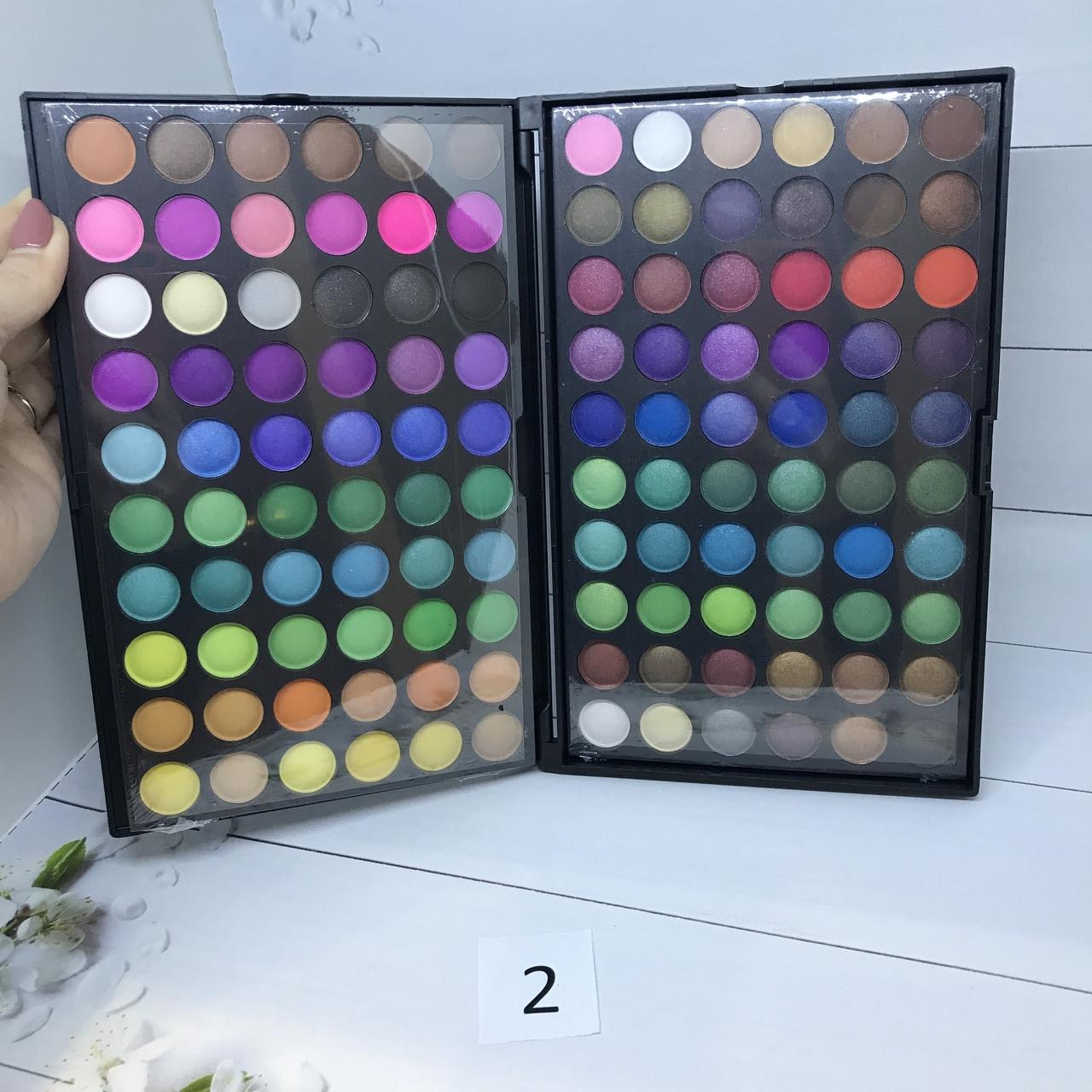 Профессиональная палитра теней МАС 120 цветов №2
