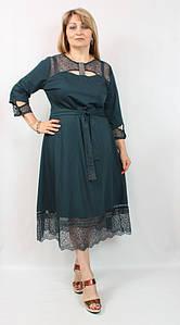 Красивое женское платье миди, Турция