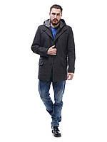 Пальто с капюшоном из кашемира П1 елка