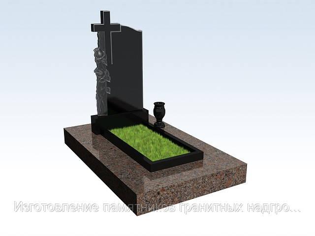 Установка надгробных памятников в портреты на памятниках из гранита фото