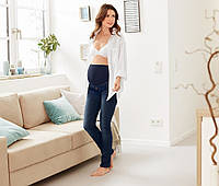 Шикарные Slimfit джинсы для беременных от тсм Tchibo (чибо), Германия, размер украинск 46-48 и 50-52, фото 1