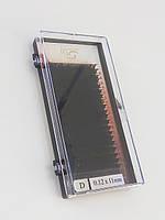 Ресницы I-Beauty на ленте , 11мм, изгиб D 0,12 Mink Eyelashes (20 линий)