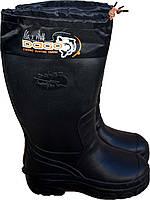 Зимние сапоги DaGo M06-1 black до -30ºС, фото 1