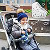Бандана снуд шарф для ребенка 0 до 3 лет