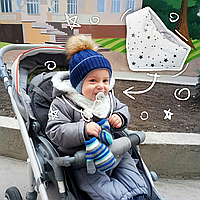 Бандана снуд шарф для ребенка 0 до 3 лет, фото 1