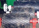 Гумування, або Футеровка приводного барабана стрічкового конвеєра, а так само футеровка роликів і валу., фото 4
