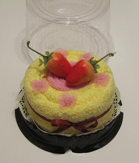 """Полотенце-тортик """"Кремовый торт"""""""